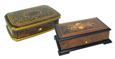 Luxury Reuge  Orpheus Music Boxes