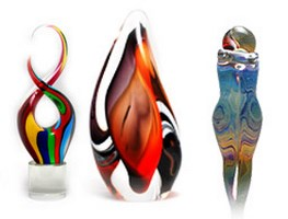 Murano Glass Sculptures