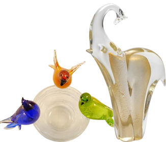 Murano Glass Gifts – Animals