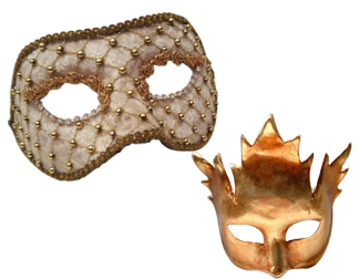 Venetian Masks – Colombina