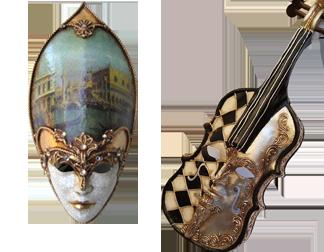 Venetian Masks – Wall Decor