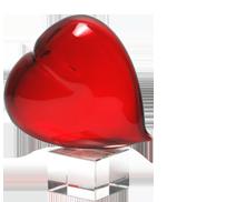 Murano Glass Gifts – Hearts