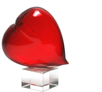 Murano Glass Gifts – Hearts