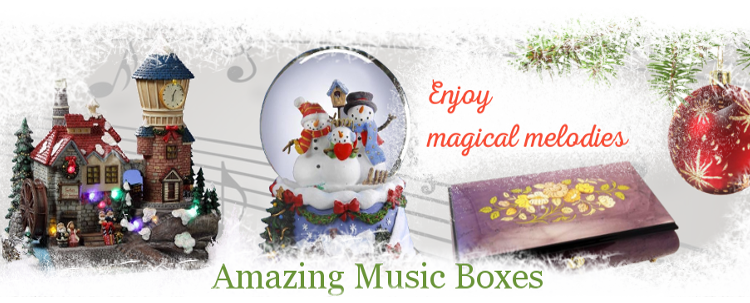Christmas - Sorento Music Boxes – only handcrafted gifts from italian masters.