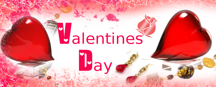 Murano Glass - Gifts ideas for a sweet Valentine's Day. Gifts for Her and Him.