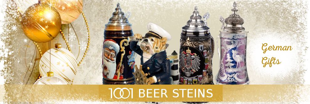 Christmas GERMAN BEER STEINS