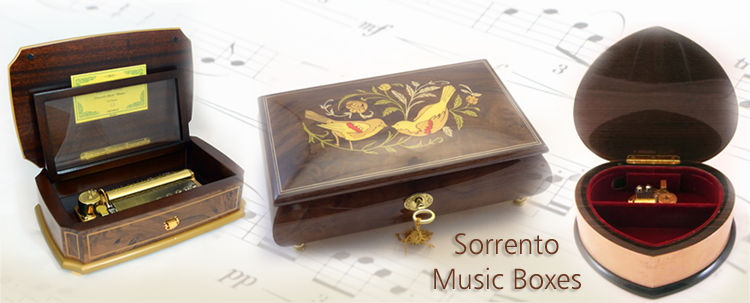 Music Boxes Musical Jewelry Boxes AmazingMusicBoxcom