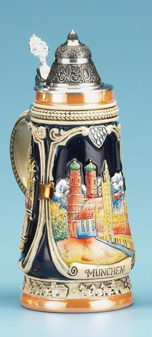 PORTRAITS OF MUNICH BEER STEIN