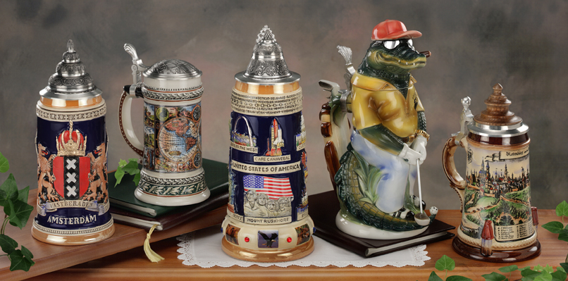 German Beer Steins as Superb Gift Items