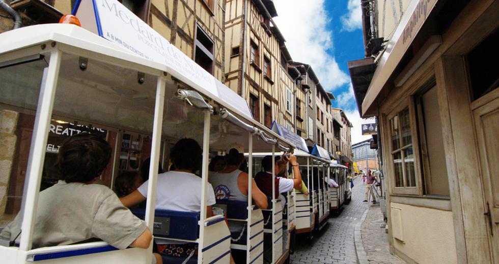 Visite touristiqu train, Limoges