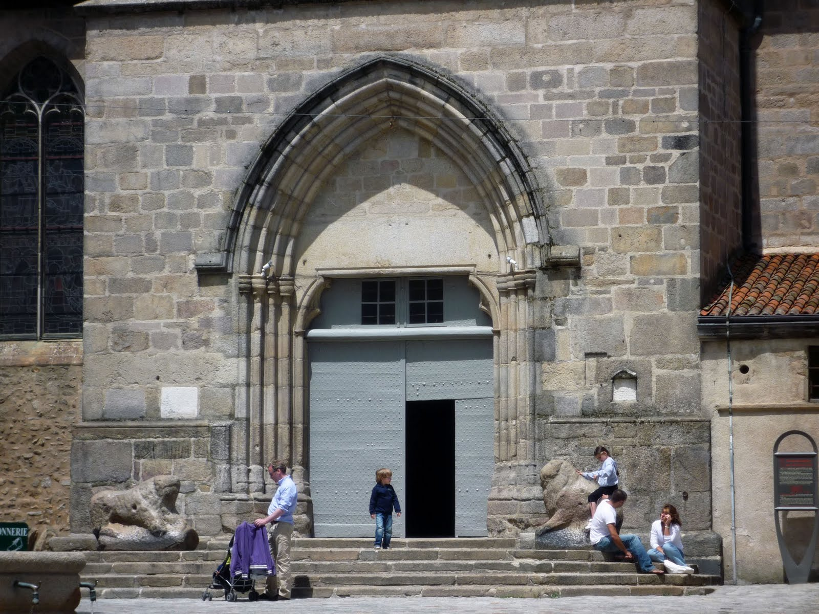 The church of St. Michel des Lions