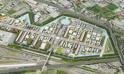 Mappa Milan Expo 2015