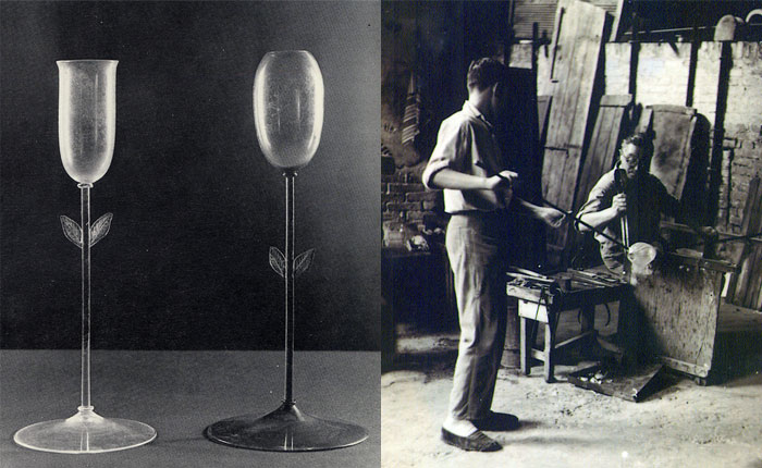 The glass makers of Murano