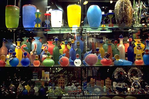 Murano Glass Vases, Sculpture