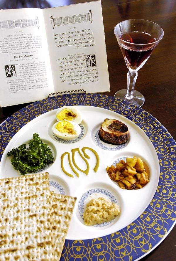 Seder plate, Passover celebration