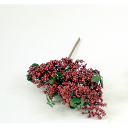 20'L Artificial Multiple Berry Pick with Leaves (Pack of 12; 96/cs)