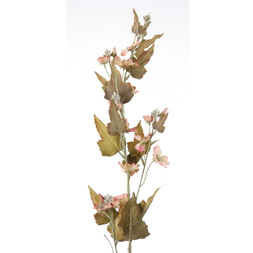 DIY Flower 38'L Artificial Antique Peach Downy Phlox Spike