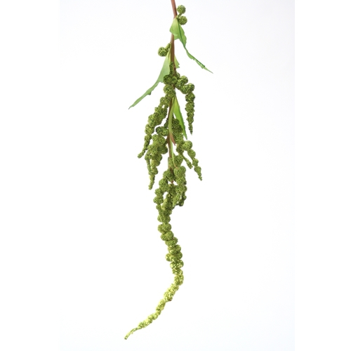 DIY Foliage 34'L Artificial Dark Green Hanging Amaranthus Spray (Pack of 12; 96/Case)