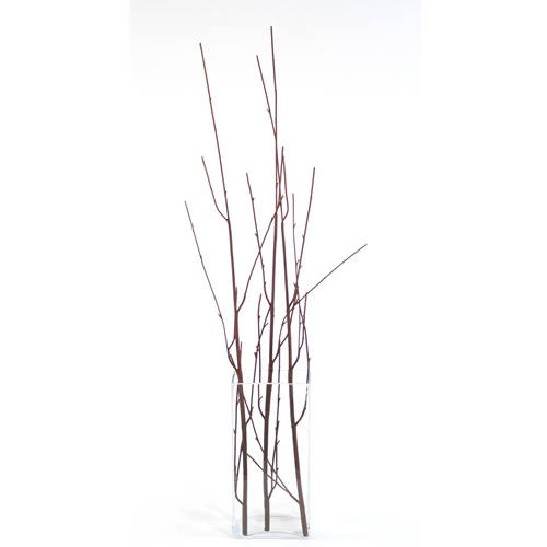DIY Foliage 48'L Artificial Brown Curly Willow Branch (Pack of 12; 72/Case)