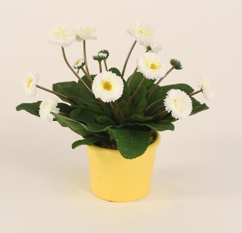 Silk dandelions in italian pot free shipping in usa 1001shops silk dandelions in italian pot mightylinksfo