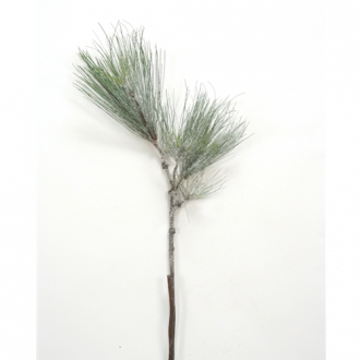 35'L Artificial Pine Spray with Snow (Pack of 6; 48/cs)