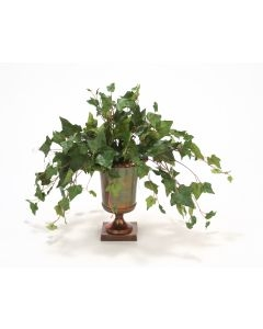 Mountain Ivy in Bronze Classic Urn
