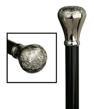 Acrylic Chrome Knob Nite Stick