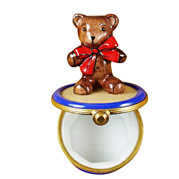BEAR ON DRUM