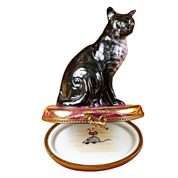 AMERICAN WIREHAIR - Limoges Boxes and Figurines - Limoges Factory Co.