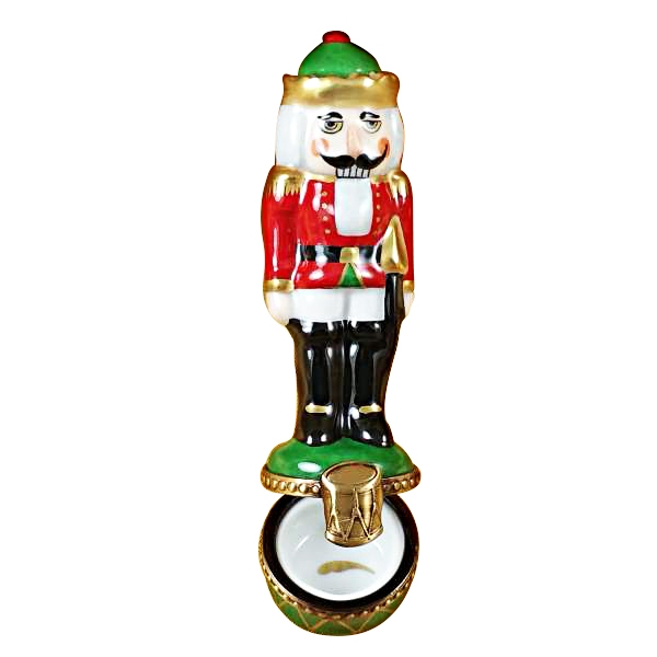 Nutcracker on a green base