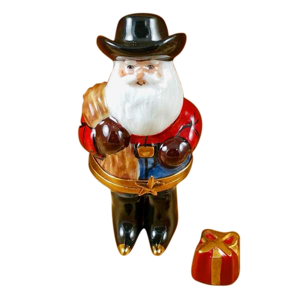 SANTA WITH COWBOY HAT df530d46b43