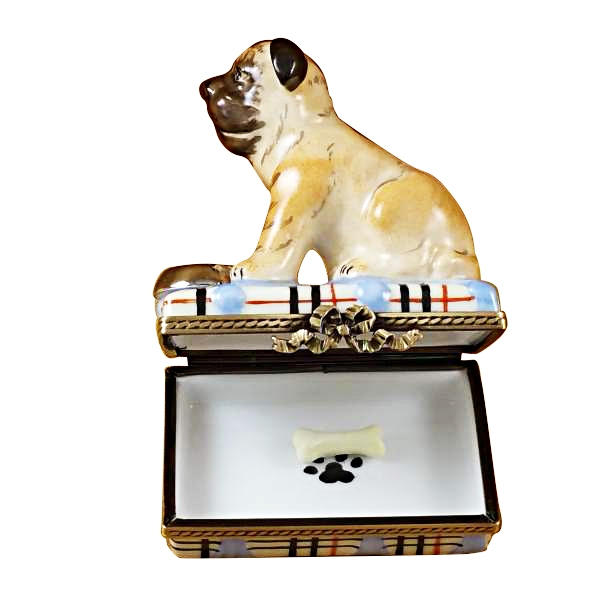 PUG WITH SPILT WATER & REMOVABLE BONE