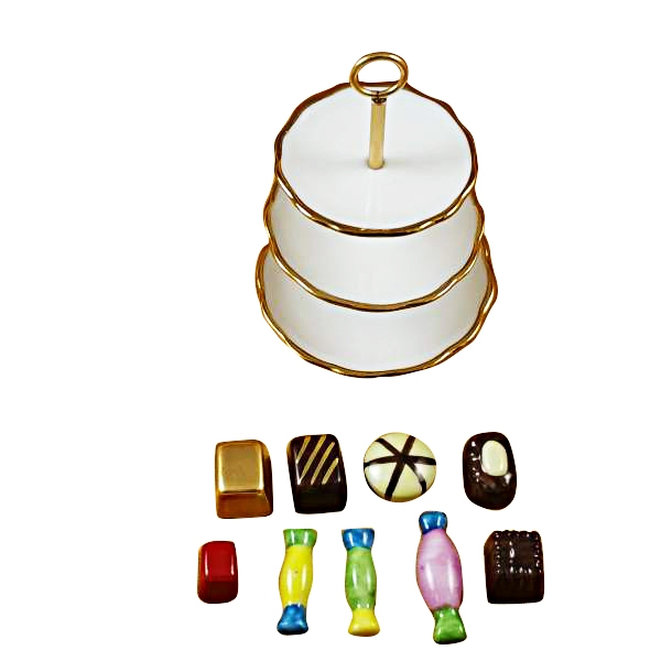 SWEET TRAY WITH NINE REMOVABLE CANDIES