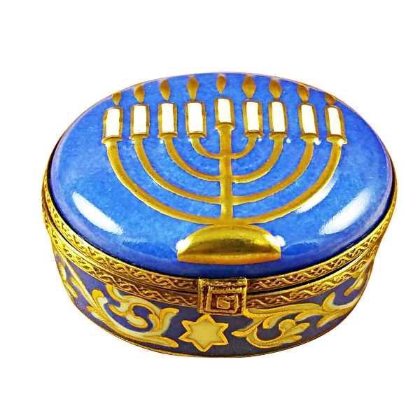 Menorah-blue
