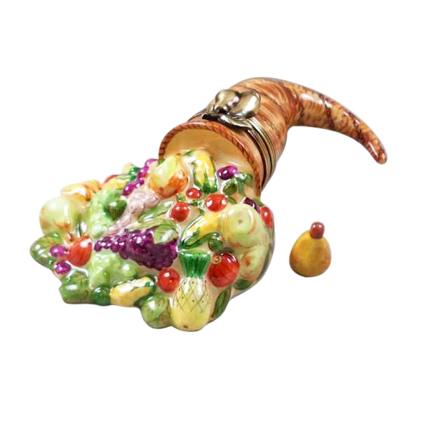 Cornucopia with Removable Pear