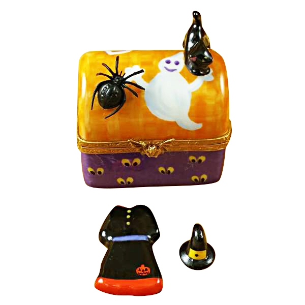 Halloween Trunk with Dress and  Hat