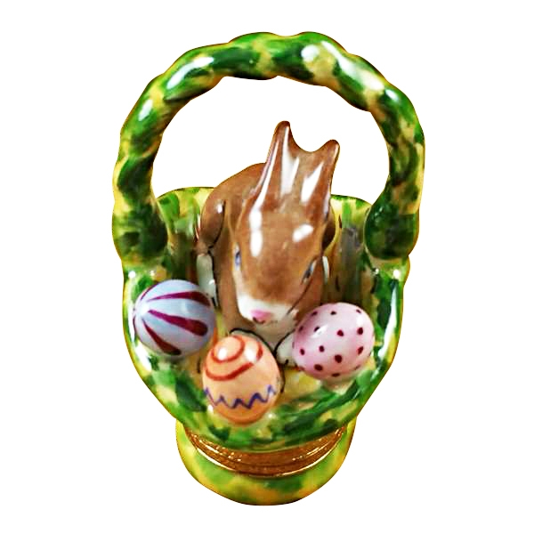 Rabbit basket/easter eggs
