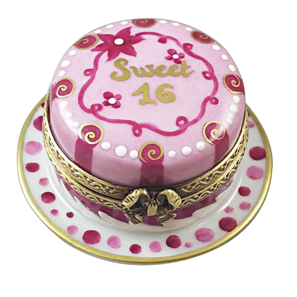 SWEET 16 CAKE BIRTHDAY CAKE