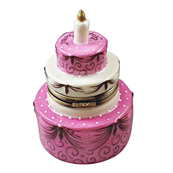 Sweet Sixteen Birthday Cake Limoges Boxes And Figurines Limoges