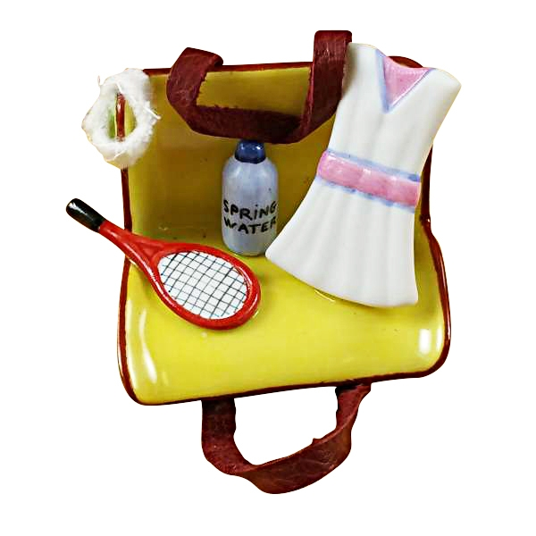 Tennis bag w/gear