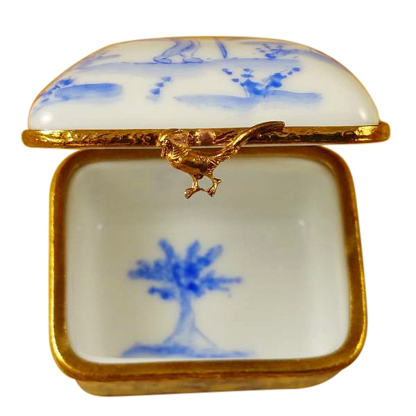 BLUE TOILLE BOX