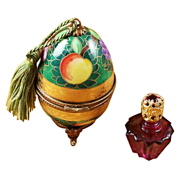GREEN-ROSE EGG W/1 BOTTLE