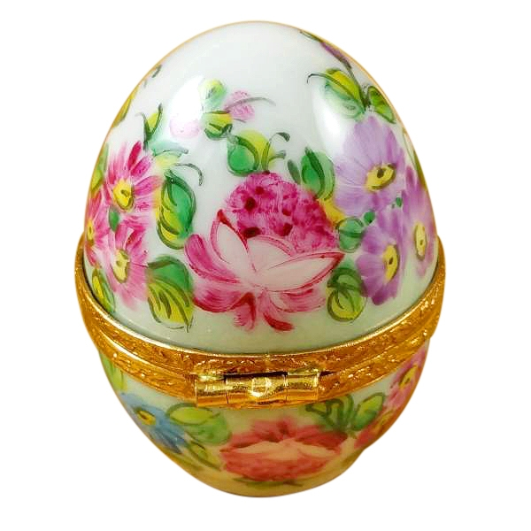 PINK FLOWERY EGG