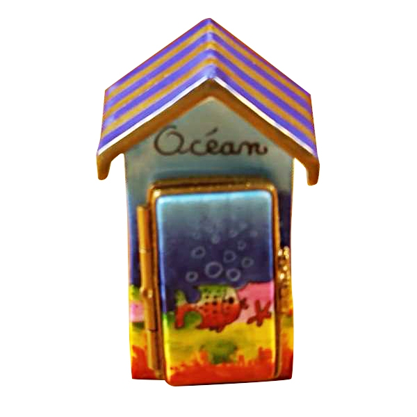 Beach cabana -ocean decor..