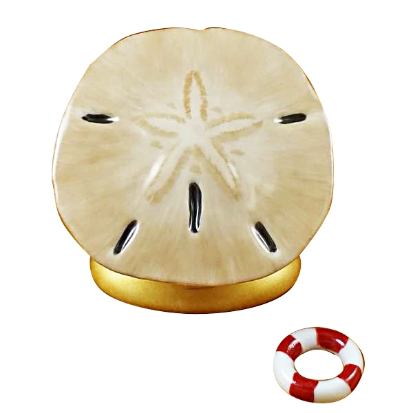 SAND DOLLAR WITH LIFE BUOY