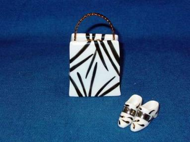 ZEBRA BAG WITH SHOES