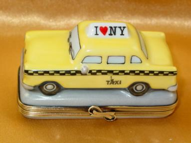 Yellow taxi - I Love New York