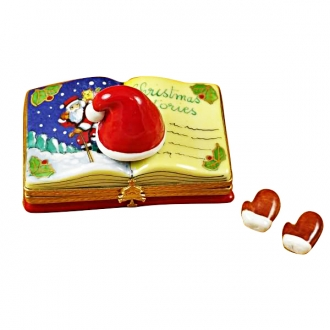 CHRISTMAS BOOK CHRISTMAS STORIES WITH REMOVABLE GLOVES