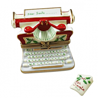 CHRISTMAS TYPEWRITER WITH LETTER