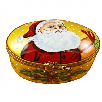Studio collection - oval w/santa claus